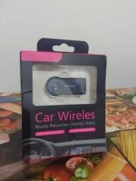 car wireles (adaptador bluetooth ) Novo Promoção