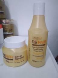 Kit Force Repair Shampoo e Máscara Forever Liss