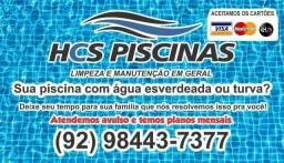 LIMPEZA E REPAROS DE PISCINAS