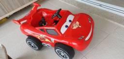Título do anúncio: Relâmpago McQueen - carrinho elétrico controle remoto