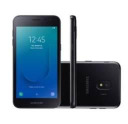 "Smartphone Samsung Galaxy J2 Core 16GB Dual Chip Tela 5"" Câm. 8MP + Câm. Selfie 5MP Preto"