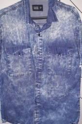 Camisa Jeans - Clock House P