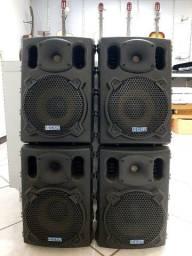 """CSR 770 Caixa Acústica de Som Passiva 8"""" 150 Watts"""