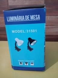 Título do anúncio: Luminária de Mesa - R$60,00