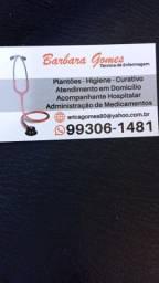 Vaga Cuidadora/ Técnica