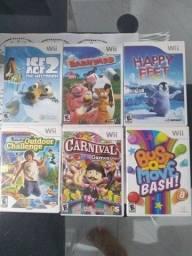 Título do anúncio: Jogos Nintendo Wii - Estado de novo