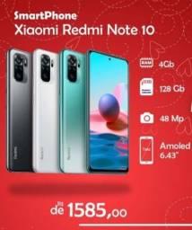 Xiaomi Redmi Note10 4GB RAM 128GB ROM Versão Global