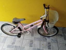 Bicicleta aro 20 com paralamas