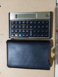 Calculadora HP 12c dourada