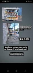 Título do anúncio: Vendesse carroça e ponto legalizado na Cabugá