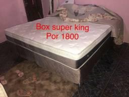 Cama King Cama box casal MOLA e ESPUMA