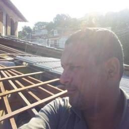 Título do anúncio: Telhado colonial  (construção e reforma)