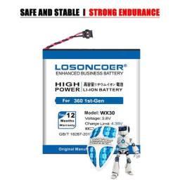 Losoncoer wx30 1050 mah snn5951a bateria de substituição para motorola moto 360