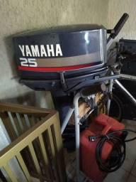 Motor yhamaha enduro 25 hp, Oportunidade ùnica