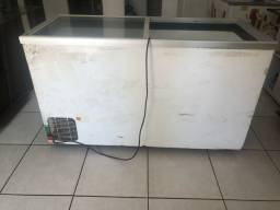 Freezer 470 Litros tampa de vidro