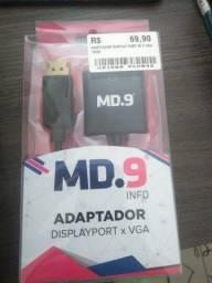 Adaptador Display Port M  x  VGA F