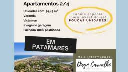 Apartamento 2 Quartos, Lançamento na Pinto de Aguiar - Pré lançamento (R1)
