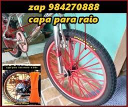 capa raio bicicleta vermelha