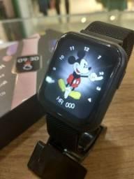 Smartwatch P80s - Tela infinita Faz Atende ligação