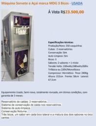 Título do anúncio: Máquina de Sorvete Açaí