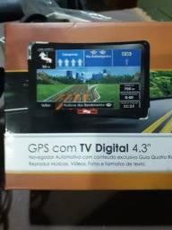 Título do anúncio: Gps com TV digital 4.3