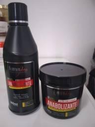 Kit Anabolizante Capilar Força e Nutrição shampoo e anabolizante capilar Forever Liss