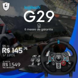 Volante Logitech G29 - Novo c/ Garantia
