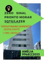 Título do anúncio: Campanha !!::compre de fato zero sinal!!!pronto  amelia