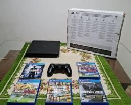 Título do anúncio: PS4 1tb+5 jogos, Notebook Lenovo Idealpad145 S145, Celular Samsung S8 Plus.