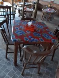 Título do anúncio: Mesas para restaurante em madeira 80x80