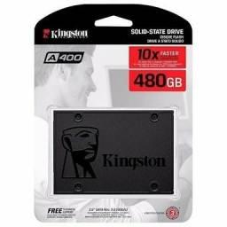 Título do anúncio: Ssd 480GB Kingston, sata3, para PC e Notebook, Novo, lacrado de Fábrica