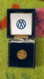 medalha comemorativa do fusca