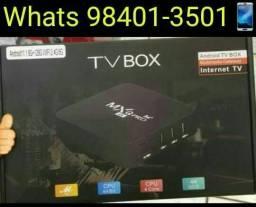 Tv_box MXQ PRÓ 4k 5G Novos com garantia e entregamos
