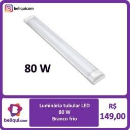 Título do anúncio: Tubular LED Branco Frio   80W - 2,40m