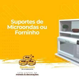 Suporte Nicho aberto para: Microondas, forninho eletrico ou cafeteira.