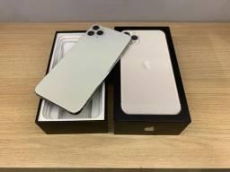Apple IPhone 11 Pro Max 64gb Prata <<<Garantia Set/21>>> Retira Savassi