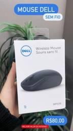 Mouse Dell - WM126 - novo lacrado
