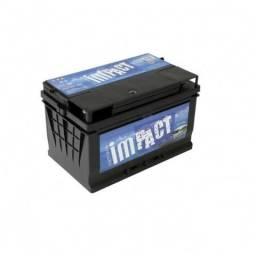 Bateria Impact 90ah Selada para SOM carro barco