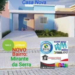 Casa Linda Localizada a 2 Minutos do Shopping Partage no Novo Bairro Mirante da Serra