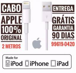 Cabo Apple iPhone Original 2 Metros Entrega Grátis