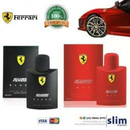 Perfume Ferrari Black/Red 100ml Original & Lacrado
