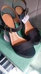 Sandália meia pata vizano