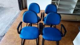 Cadeiras de escritório - Presidente, diretor, aproximação 8 unidades