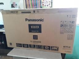 Smart tv led panasonic 32 Super nova na caixa nota fiscal e entrega!!