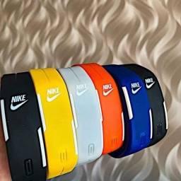 Relógio led nike estilo pulseira