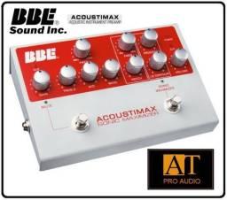 Pedal Preamp Violão Instrumentos Acústicos BBE Acoustimax Maximizer Loja AT Proaudio!