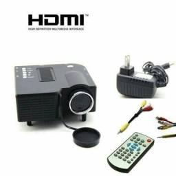 Mini retro projetor