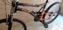 Bicicleta Aro 26 Caloi XRT C/ Amortecedor Aceito Cartão