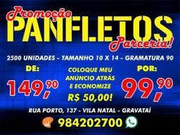 Panfletos - Promoção