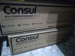 Vende-se 2 ar-condicionado SPLIT quente e frio 9.000 BTU/H